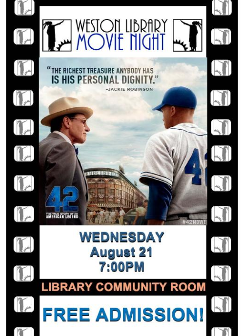 Free Showing of 42: The True Story of the American Legend